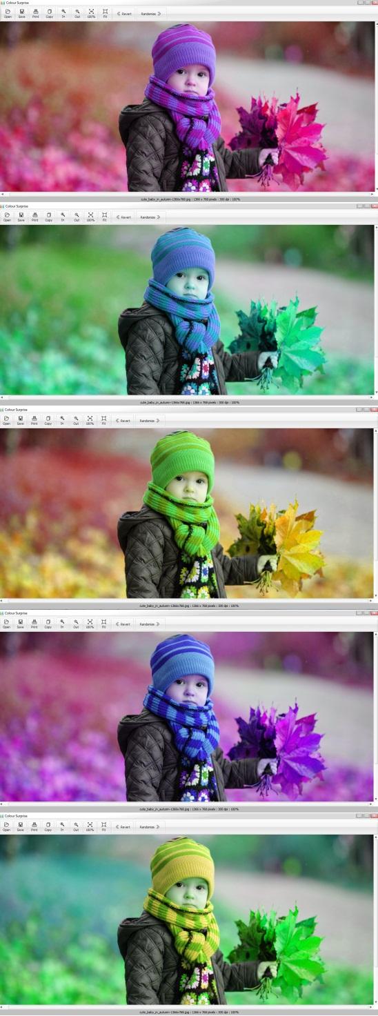 Colour Surprise effects