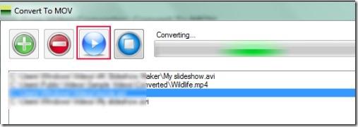 Convert To MOV 03 convert videos to mov