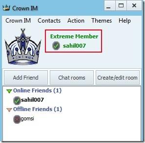 Crown IM 01 free instant messenger
