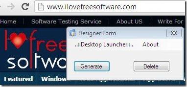 Desktop Laucher 02 applications launcher