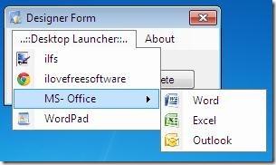Desktop Laucher 04 applications launcher