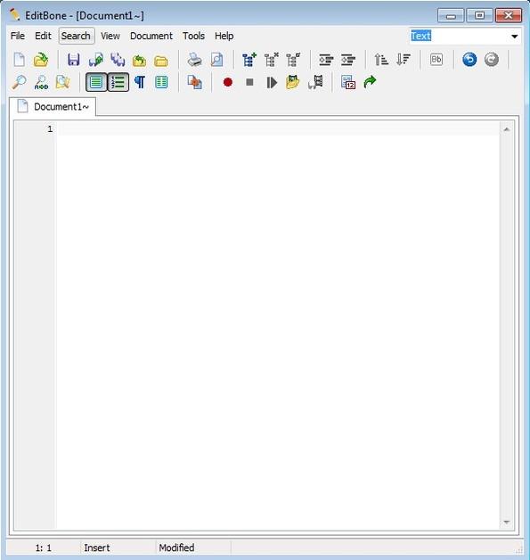 EditBone default window
