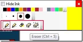 Epic Pen 02 draw on desktop screen