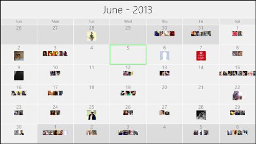 Fb calendar