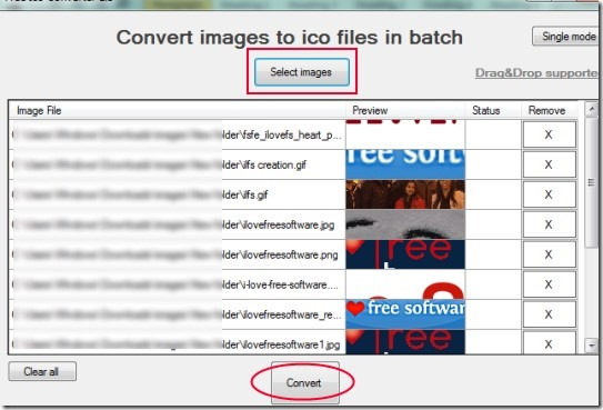 Free Ico Converter 02 convert images to icon file