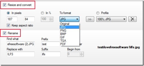 Free Image Convert and Resize 02 resize images in batch