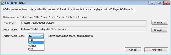 HD Player Helper setting up