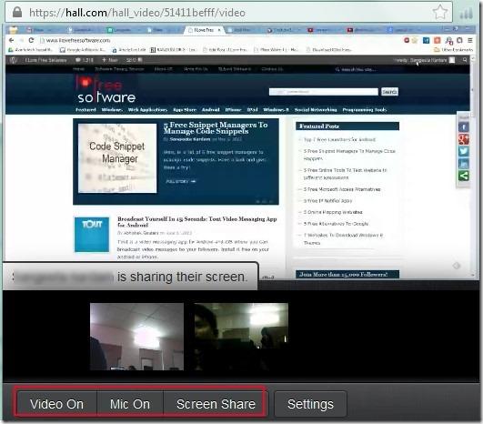 Hall.com 04 free collaboration online service