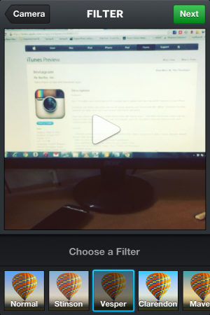 Insatgarm-upload video-instagram for video
