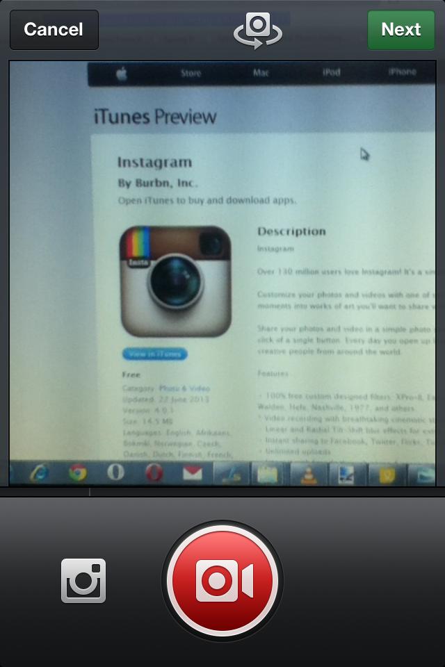 Insatgarm-upload video-Instagram for video
