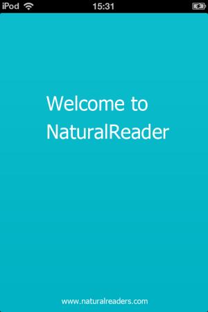 NaturalReader-welcome-text to speech converter