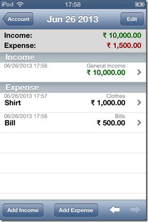 iSPending-details-Expense tracker