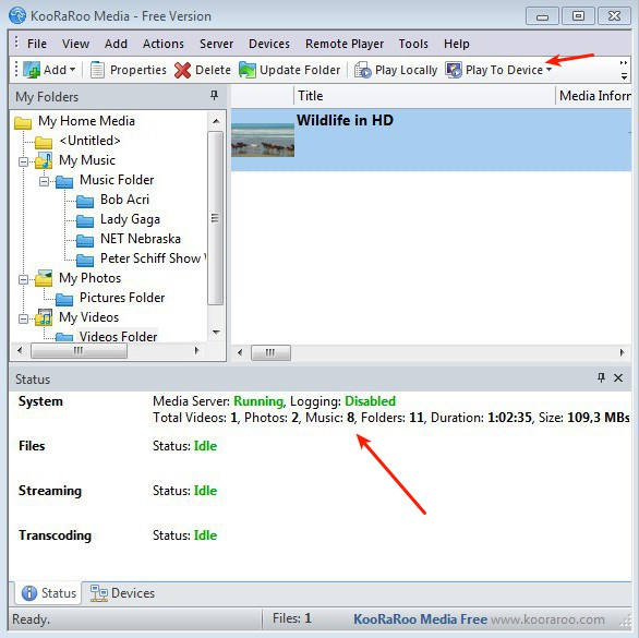 Free DLNA Server Software to Stream Audio, Video, Photos Via LAN