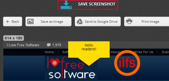 Nimbus Screen Capture 04 capture webpage screenshot