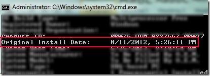 OS Age Finder 04 find OS installation date