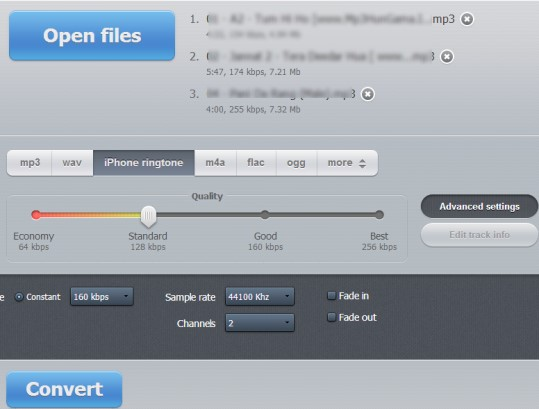 Online Audio Converter 03 online convert audio files
