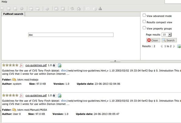 OpenKM editing files