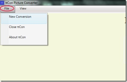 PiCon Picture Converter 01 convert images to jpg