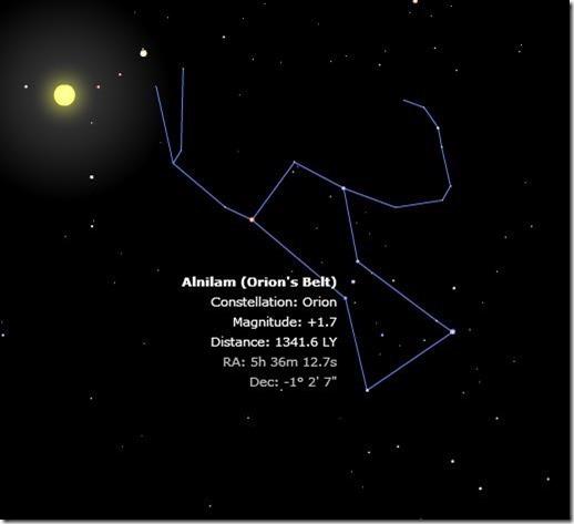 Planetarium constellation