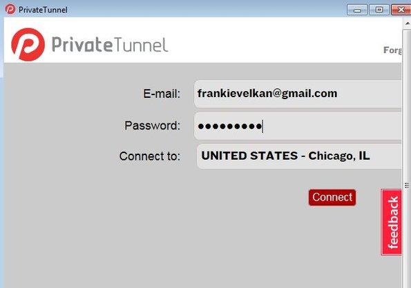 Private Tunnel desktop client windows