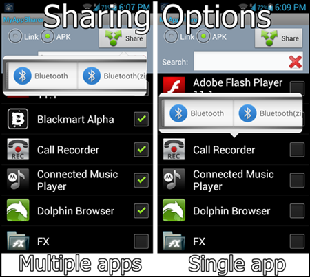Sharing options_multiple files