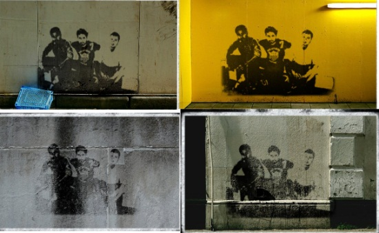 Stencil Graffiti Creator - backgrounds
