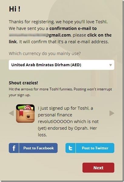 Toshl Finance 1