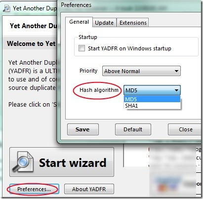 Yet Another Duplicate File Remover 02 free software for removing duplicate files