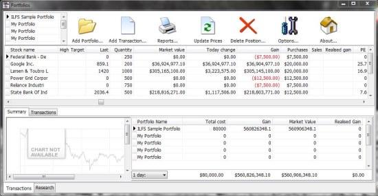 Zoom Portfolio Manager valuations