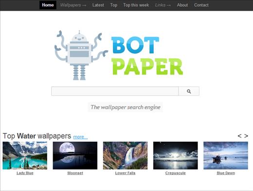 botpaper01-wallpaper search