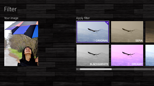 Windows 8 App To Add Filter Effects To Your Images: Filter