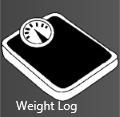 Simple Weight log logo