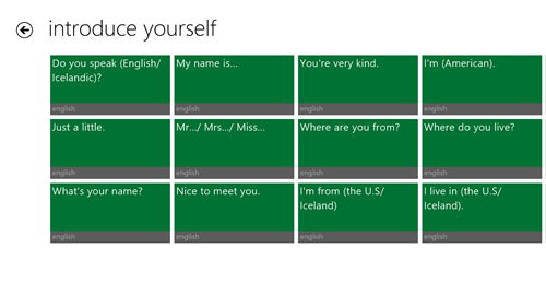 introduce yourself, dialogs in english