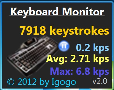 keyboard monitor window