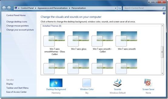 neiio 8 free windows themes