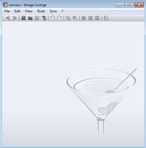 nomacs Image Lounge default window