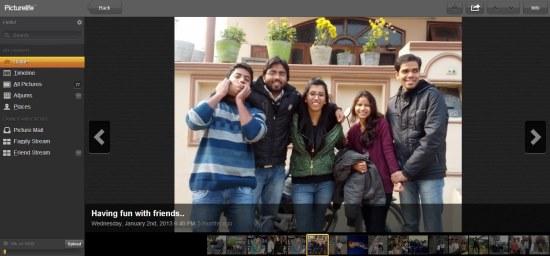 picturelife social media integration