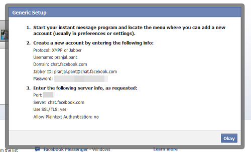 popup chat fb