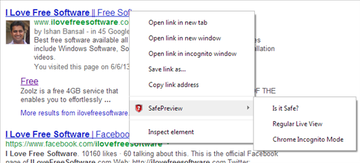Safe Preview 01- website safety check