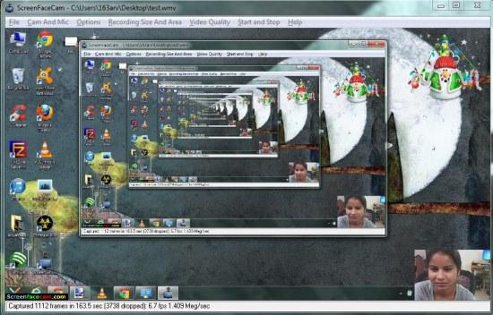 screenfacecam preview