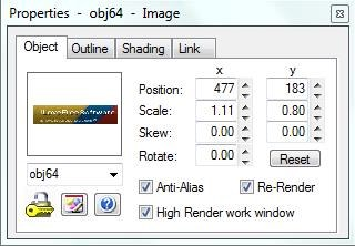 siteSpinner Cloud propeties editor