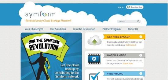 symform interface