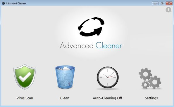 Advanced Cleaner default window