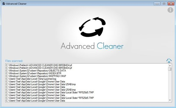 Advanced Cleaner virus scan