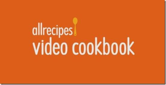 Allrecipes Video Cookbook- launch