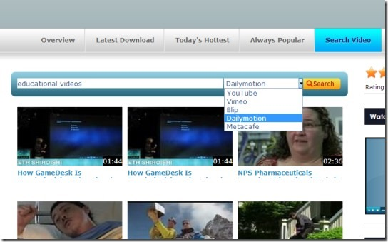 Free Online Dailymotion Downloader to Download Dailymotion Videos