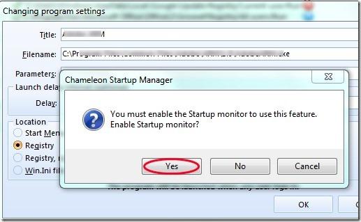 Chameleon Delayer- enable startup manager