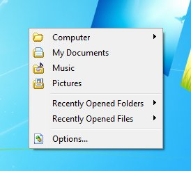 Chameleon Folder default window
