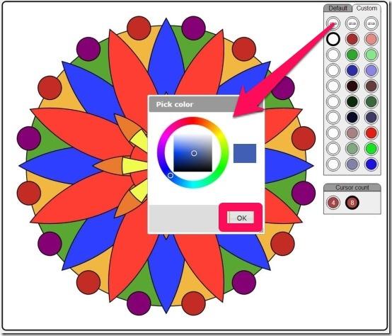 ColorMandala custom colors