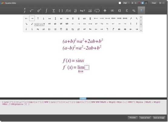 Daum Equation Editor 2